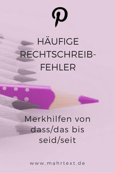 10 häufige Rechtschreibfehler, die ab heute nicht mehr passieren That or that? Acquisition or Aquise? Do you finally want to know? Then take a look at these ten memory aids. School Motivation, Study Motivation, Home Based Business Opportunities, E-mail Marketing, Digital Marketing, German Language, Good To Know, Spelling, How To Make Money