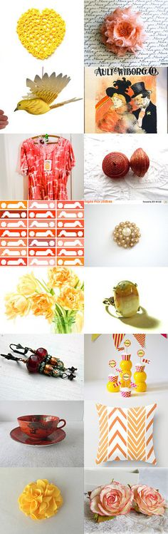 Summer  is Here by Olga on Etsy--Pinned+with+TreasuryPin.com