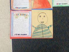 Father's Day Idea Elementary Education, Elementary Art, Blackboards, My Daddy, First Grade, Early Childhood, Fathers Day, Kindergarten, Teacher