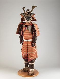 Armor (Gusoku), 19th century. Japan. The Metropolitan Museum of Art, New York. Rogers Fund, 1904 (04.4.2) | This armor was part of the large collection of Japanese arms and armor formed by Arms and Armor Department founding curator Bashford Dean around 1900, during his extended stays in Japan for scientific research.