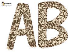 KATIA ARTES - BLOG DE LETRAS PERSONALIZADAS E ALGUMAS COISINHAS: Alfabeto safari