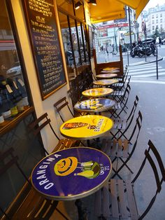 Paris Café by chez loulou, via Flickr