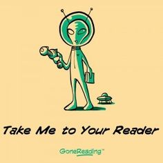 Take Me To Your Reader T-shirt from GoneReading.