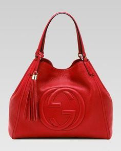 09d42aa8a Soho Leather Shoulder Bag, Red - Neiman Marcus $1750 #Chanelhandbags  #shoulderbagsneimanmarcus