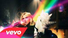 Ke$ha - Blow who knew that unicorns bled rainbows; go figure