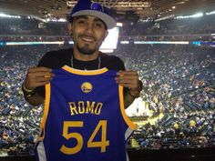. @SergioRomo54 is on deck. The #RomoTakeover begins at the start of the 2nd quarter.