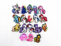 a98c1d702 Cute My Little Pony Party Gifts Shoe Charms for Croc   Wristband Bracelet