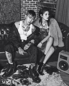 Kim Yong Ji, Bae Yoon Young, Lee Ho Jeong, Kim Joo Yeon for Vogue Korea Dec 2015 by Kim Hee Jun