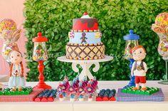 locação bolo joão e maria