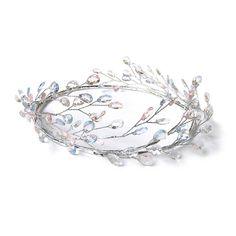 Grecian Headband Bohemian Wedding Headpiece Bridal by curtainroad