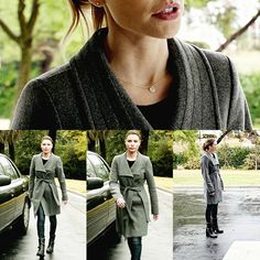 Lauren German I Chloe Decker I Lucifer Chloe Decker, Lauren German, Cosplay Makeup, Work Looks, Fall Winter Outfits, Military Jacket, My Style, Makeup Ideas, Casual Outfits