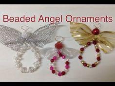 Beaded Angel Ornament - YouTube