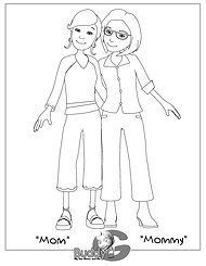 lesbian wedding coloring pages | wedding coloring book lesbian - Google Search | We're ...