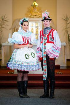 Česká republika- Moravské kroje