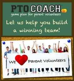 PTO Coach -Game Plan for Parent Volunteers