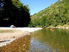 Camping Nature et Rivière, Sainte-Enimie