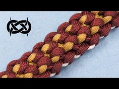 How to make a Temporal Bar Paracord Bracelet Tutorial (Paracord 101) - YouTube