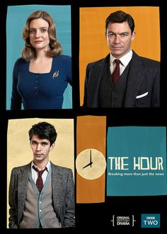 The Hour - BBC  drama set in the 1950's newsroom