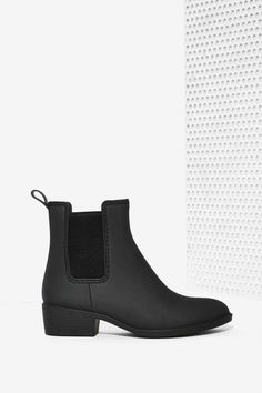 Jeffrey Campbell Stormy Chelsea Rain Boot - Matte - Shoes | Cold Weather Gear | Ankle