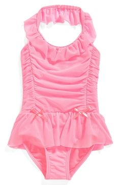 Free shipping and returns on Hula Star 'Princess Aurora' One-Piece Swimsuit (Toddler Girls & Little Girls) at Nordstrom.com. A whimsical swimsuit is reminiscent of her favorite ballgown with its voluminous ruching, ribbons and ruffle details.