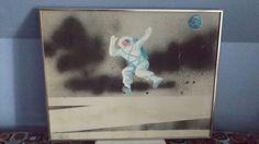 Woodstock Legend Richie Havens Art Rare Paintings Music Moon Artist Blues USA 7 Jazz Artists, Famous Artists, Music Artists, Moon Painting, Oil Painting On Canvas, Richie Havens, Music Icon, Pop Music, Pop