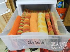 How to Organize Under Your Sink ~ Organize Your Kitchen Frugally Day 2