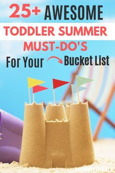 Fun Summer Toddler Activities that are Must-do for your Bucket List. Pair them up to fill your day or do each individually and have the best summer ever! Summer Activities For Toddlers, Activities For 2 Year Olds, Toddler Learning Activities, Kids Learning Activities, Parenting Toddlers, Infant Activities, Parenting Tips, Kindergarten Activities, Fun Learning