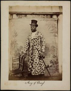 This is Frederick William Koko Mingi VIII who became the 'Amanyanabo' (King) of Brass, Nigeria 1889. Source: Vintage Nigeria