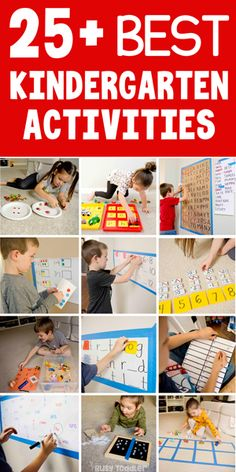 25 Kindergarten Activities from Busy Toddler Are you looking for fun hands-on kindergarten activities? This list has play-filled activities for kindergarteners to do at home (from Busy Toddler) Kindergarten Math Activities, Numbers Kindergarten, Learning Activities, Creative Activities For Toddlers, Toddler Activities, Toddler Learning, Early Learning, Learning Through Play, Reggio Emilia