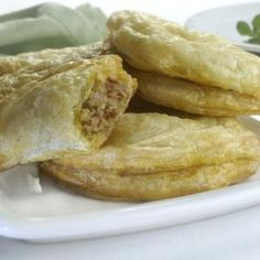 Receta de Deliciosas Empanadas de jamon y roquefort