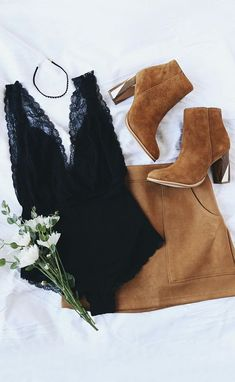 suede and lace