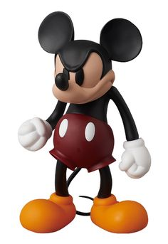 Angry Mickey Mouse Doll.