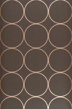 Calypso | Papel de parede geométrico | Padrões de papel de parede | Papel de parede dos anos 70