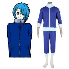 Deluxe Vocaloid Kaito 4TH Cosplay Costumes