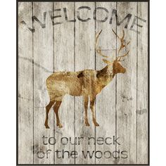 Add a charming touch to your entryway or living room with this framed giclee print, showcasing a moose motif and weathered typographic details. ...