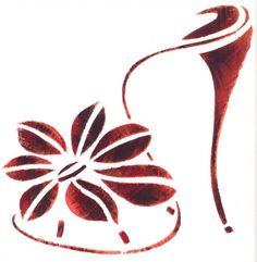 Flower shoes by Mark Schwartz