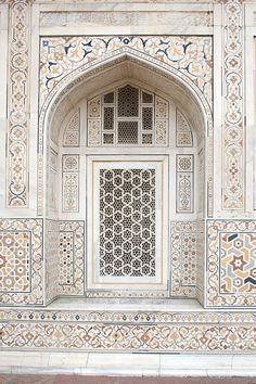Taj Mahal window