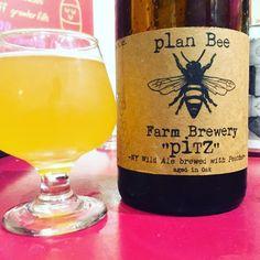 PitZ by Plan Bee Farm Brewery - sweet peaches swirl with a big sour for a complex brew  #planbeefarmbrewery #pitz #sourbeers  #craftbeer #craftbeerporn #beer #beerstagram #beertography #instabeer #beernerd #beerpic #fanaticbeer #beerme #goodbeer #goodbeerhunting #beergasm #iheartbeer #craftnotcrap #untappd #beer_community #craftbeer