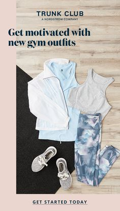 There's nothing like a new Trunk Club activewear outfit to boost your confidence. Enlist a personal stylist to revamp your workout or athleisure wardrobe. Source by trunkclub outfits School Outfits, Summer Outfits, Casual Outfits, Cute Outfits, Fashion Outfits, Womens Fashion, Workout Attire, Workout Wear, Crossfit Body