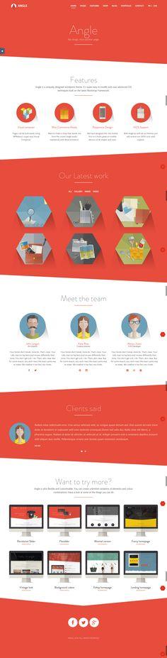 Angle Flat Responsive Bootstrap MultiPurpose Theme http://themeforest.net/item/angle-flat-responsive-bootstrap-multipurpose-theme/6519550?ref=wpaw #web #design #wordpress