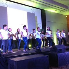 The Central Visayas Consortium and their dance number #PNHRSph #SafePH #HealthResearchPH #PLDThomefiber