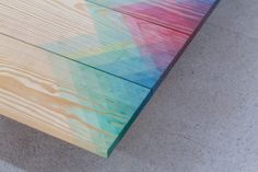 Herringbone Furniture Created With Coloured Dye By Raw Edges • DESIGN. / VISUAL.