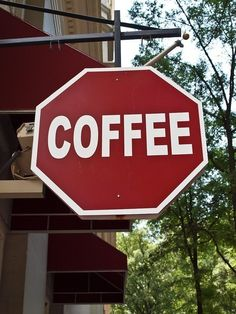 STOP!  In the name of caffeine.......
