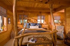 Vermont Timber Frame Residence - eclectic - bedroom - other metro - Laurel Feldman Interiors, IIDA