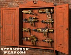 Steampunk Weapons | Steampunk Weapons