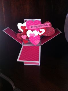 Valentines Pop Up Card