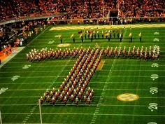 Knoxville is Home to The University of Tennessee Volunteers