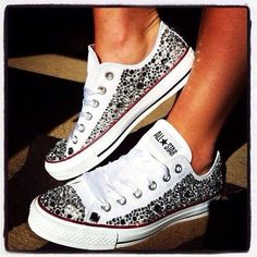Converse Chuck Taylor All Star Converse All Star, Converse Shoes, Ladies Converse, Diy Converse, Vans, Nike Sneakers, Cute Shoes, Me Too Shoes, Jouer Au Basket