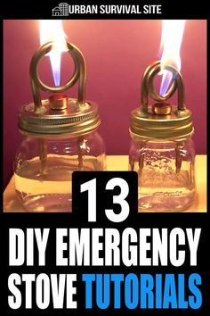 There are many DIY designs for making a stove, and they all involve materials yo… There are many DIY designs for making a stove, and they all involve materials you might find in your average zombie-ravaged city. Emergency Preparedness Kit, Emergency Preparation, Emergency Supplies, Survival Prepping, Survival Gear, Survival Skills, Wilderness Survival, Survival Stove, Survival Hacks