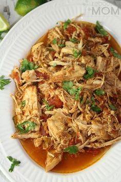Instant Pot Shredded Mexican Chicken
